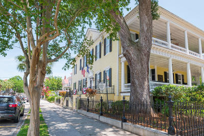 Charleston Single Family Home For Sale: 117 Broad Street