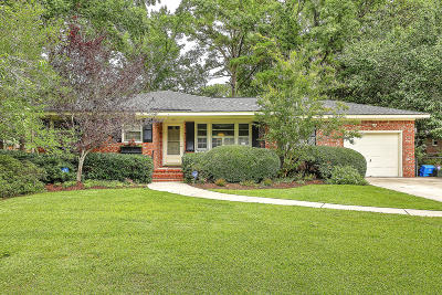 Charleston Single Family Home For Sale: 1642 Clyde Street