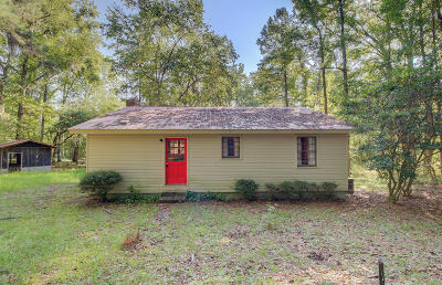 Walterboro Single Family Home For Sale: Chessey Creek