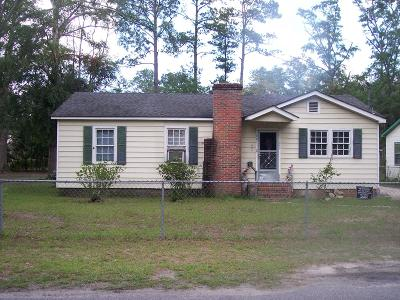 Walterboro Single Family Home Contingent: 307 Hill Street