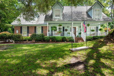 Charleston Single Family Home For Sale: 2215 Hunter Creek Drive
