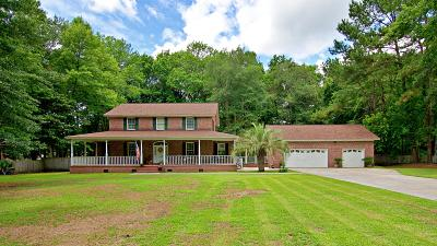 Summerville Single Family Home For Sale: 206 Woodland Drive