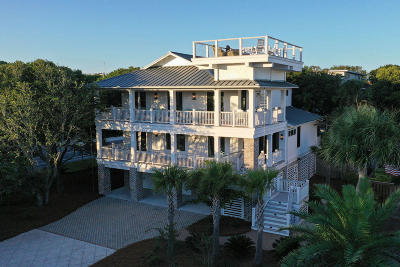 Isle Of Palms Single Family Home For Sale: 10 42nd Avenue