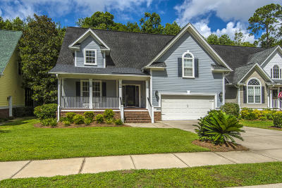 North Charleston Single Family Home For Sale: 8619 Woodland Walk