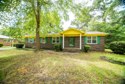 Walterboro Single Family Home For Sale: 507 Maxey Street