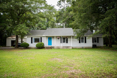 Awendaw Single Family Home For Sale: 6402 Maxville Road