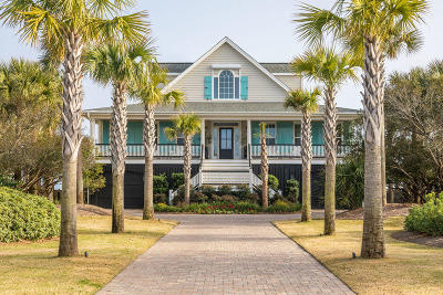 Isle Of Palms Single Family Home For Sale: 214 Ocean Boulevard