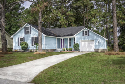 Summerville Single Family Home For Sale: 318 Woodward Boulevard