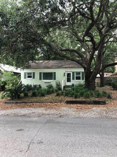 Mount Pleasant Single Family Home For Sale: 636 Atlantic Street