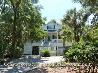 Edisto Island Single Family Home For Sale: 48 Rice Lane
