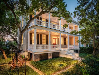 Charleston SC Single Family Home For Sale: $4,150,000