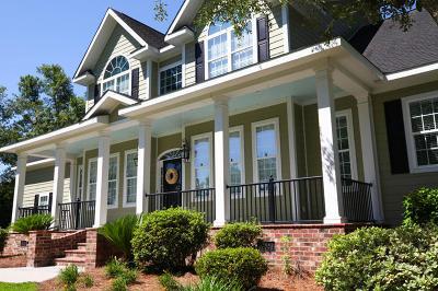 Moncks Corner Single Family Home Contingent: 135 Twin Creek Lane