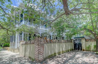 Charleston Single Family Home For Sale: 84 Ashley Avenue