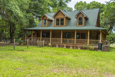 Wadmalaw Island Single Family Home For Sale: 6392 Ranch Road