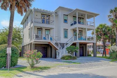 Folly Beach Single Family Home For Sale: 125 E Ashley Avenue