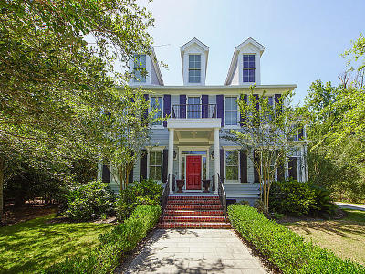 Mount Pleasant Single Family Home For Sale: 1856 W Canning Drive