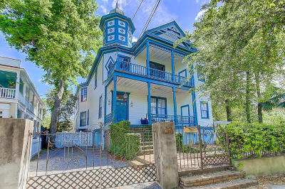 Charleston Single Family Home For Sale: 67 Warren Street