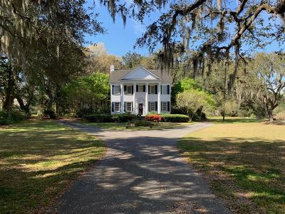 Single Family Home For Sale: 2267 Ashley River Road