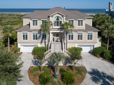 Seabrook Island SC Single Family Home For Sale: $2,990,000