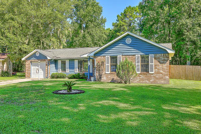 Goose Creek Single Family Home Contingent: 209 N Pandora Drive