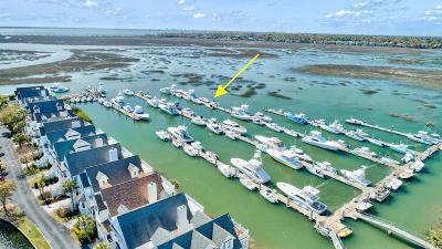 Mount Pleasant Boat Slip For Sale: 1610 Ben Sawyer Boulevard #E8 &