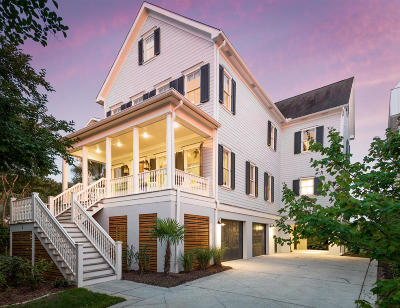 Charleston Single Family Home For Sale: 5 Lowndes Pointe Drive