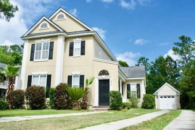 Mount Pleasant Single Family Home For Sale: 1832 Hubbell Drive