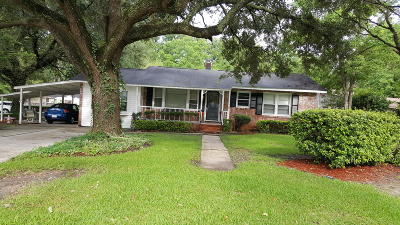 North Charleston Single Family Home For Sale: 9001 Timber Street