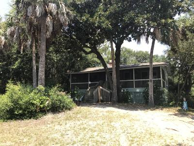 Folly Beach SC Single Family Home Contingent: $640,000