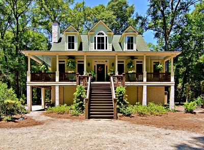 Edisto Island Single Family Home For Sale: 7747 Chaplin Garden Lane