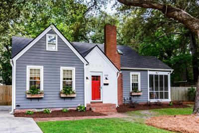 Single Family Home For Sale: 100 Live Oak Avenue