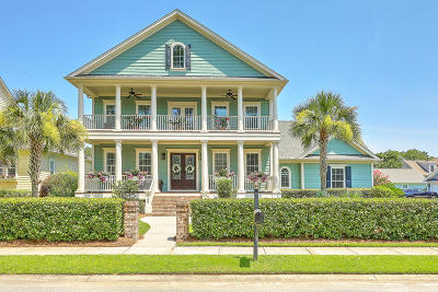 Mount Pleasant Single Family Home For Sale: 1153 Ayers Plantation Way