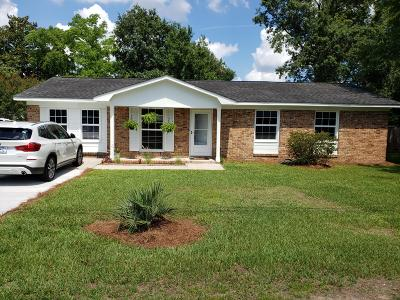 West Ashley Plantation Single Family Home For Sale: 1724 Boone Hall Drive