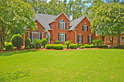 North Charleston Single Family Home For Sale: 8712 E Fairway Woods Circle