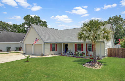 Goose Creek Single Family Home Contingent: 104 Retriever Lane