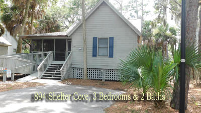 Edisto Beach SC Single Family Home For Sale: $292,500