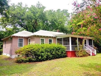 Single Family Home For Sale: 1720 Wappoo Drive