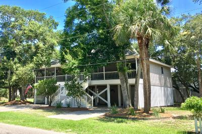 Edisto Island Single Family Home For Sale: 523 Dolphin Street