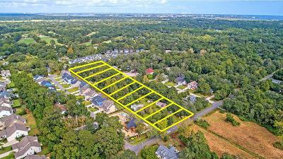 Charleston Residential Lots & Land For Sale: 2134&2138 Woodland Shores Road