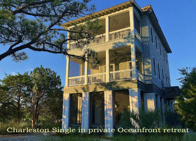 Edisto Island SC Single Family Home For Sale: $734,900