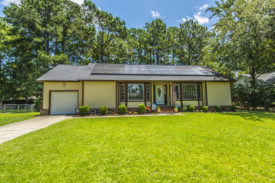 Summerville Single Family Home Contingent: 211 Woodward Boulevard