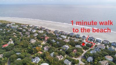 Isle Of Palms Single Family Home For Sale: 31 E Beachwood East