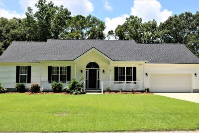North Charleston Single Family Home For Sale: 8669 Deerwood Drive