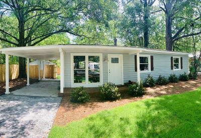 Charleston Single Family Home For Sale: 350 Lantana Drive