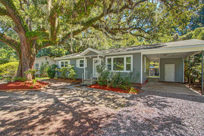Charleston Single Family Home For Sale: 846 Savage Road