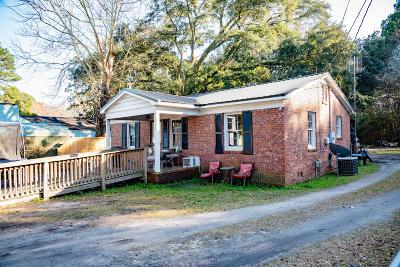 Walterboro Single Family Home Contingent: 1532-A Hampton Street