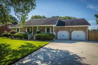 Charleston Single Family Home Contingent: 2135 Hunter Creek Drive