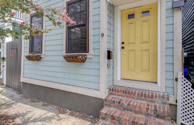 Charleston Single Family Home For Sale: 9 Sheppard Street