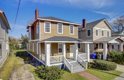 Charleston Single Family Home For Sale: 58 Cypress Street