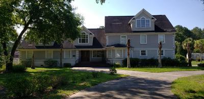 Charleston County Single Family Home For Sale: 5387 Halfway Creek Road